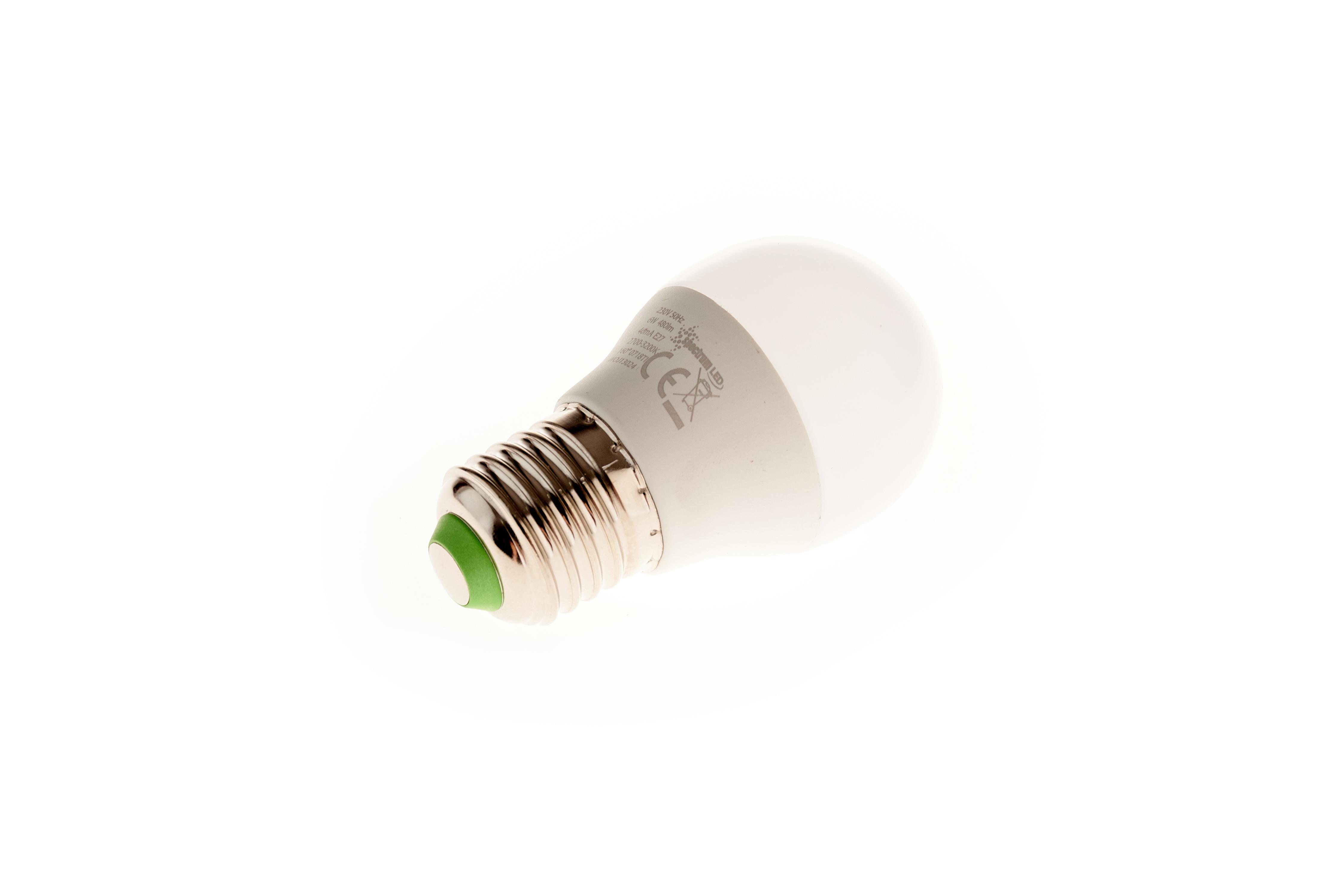 BEC LED B45 E27 6W 480lm lumina calda [1]
